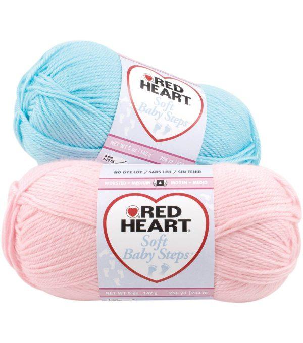 Red Heart Soft Baby Steps kötőfonal