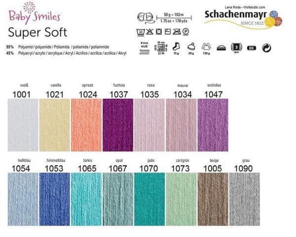 Schachenmayr Baby Super Soft kötőfonal