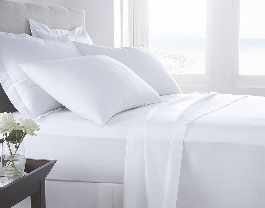Fehér pamut vászon lepedő lakástextil webshop 524a12e4fb