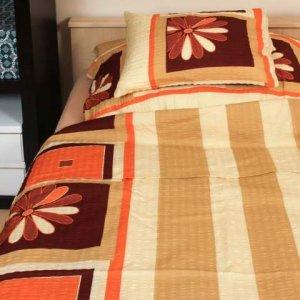 ... Abotex narancs barna virág 3 részes krepp ágynemű ... 846e42c045