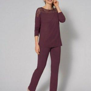 Triumph Amourette PK LSL pizsama lila színben