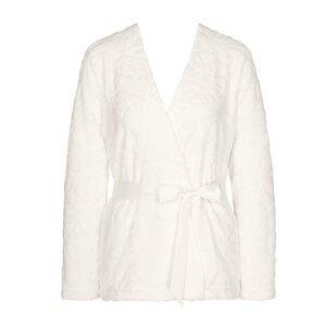 Triumph Robes Embossed Robe fehér házikabát