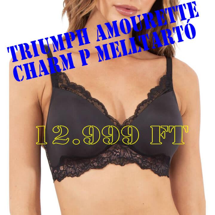 Triumph Amourette Charm P szivacsos melltartó