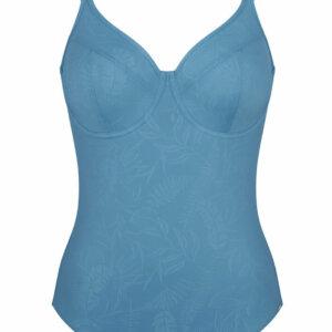 Triumph VENUS ELEGANCE OW 02 egyrészes, merevítős fürdőruha mediterrán kék színben