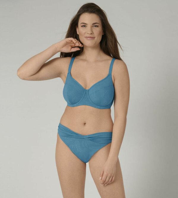 Triumph VENUS ELEGANCE W 02 merevítős bikini felső mediterrán kék színben