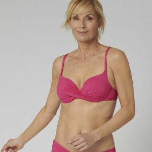 Triumph Venus Elegance WP vékony szivacsos bikini felső rózsaszínben