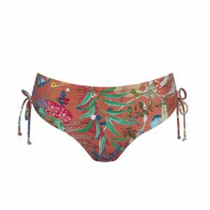 Triumph BOTANICAL LEAF MIDI bikini alsó rozsda mintás